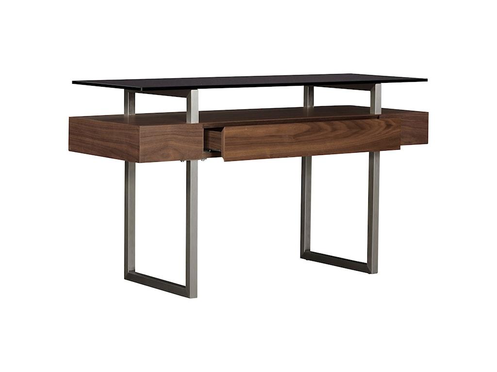 Casana BannatyneGlass Top Sofa Table