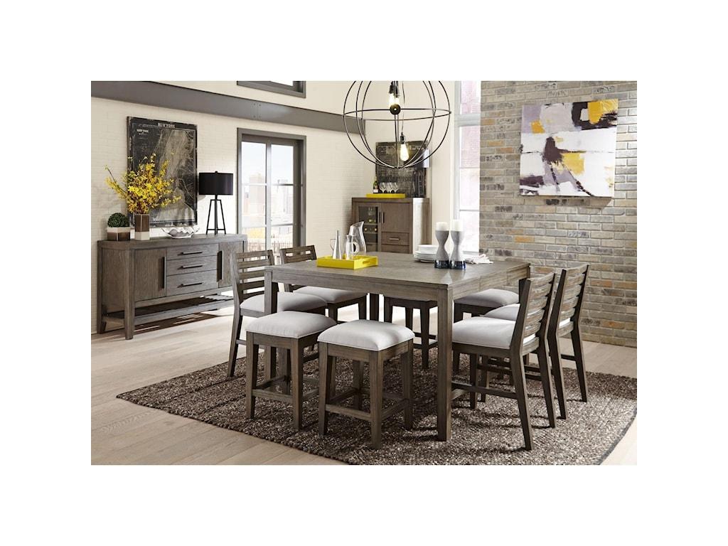Belfort Select DistrictSlat Back Café Chair