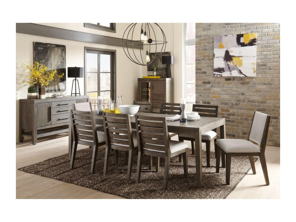 Belfort Select DistrictRectangular Dining Table