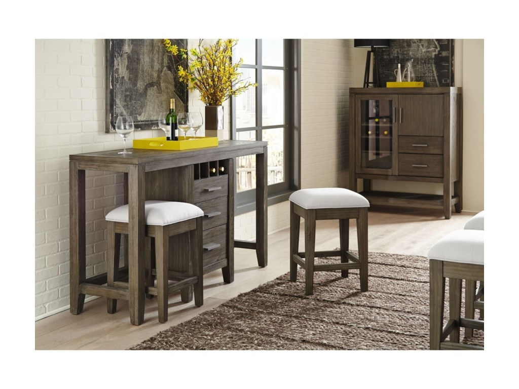 Belfort Select District Multifunctional Workspace Console