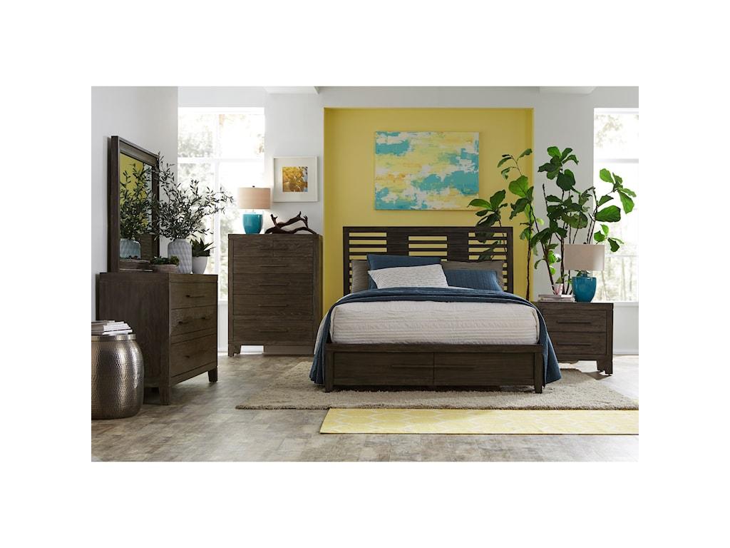 Morris Home Furnishings BrookdaleBrookdale Queen Panel Storage Bed