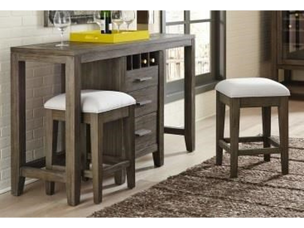 Morris Home Furnishings BrookdaleBrookdale 3 Piece Console with Stools