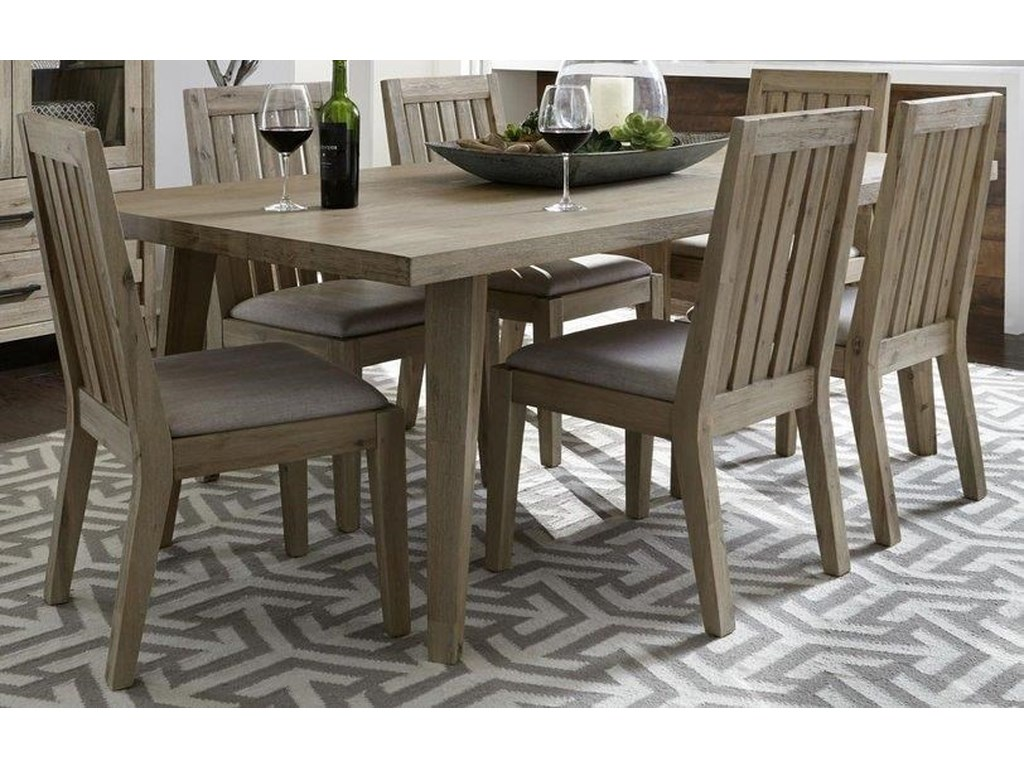 Morris Home Furnishings West WoodWestwood 5-Piece Dining Set