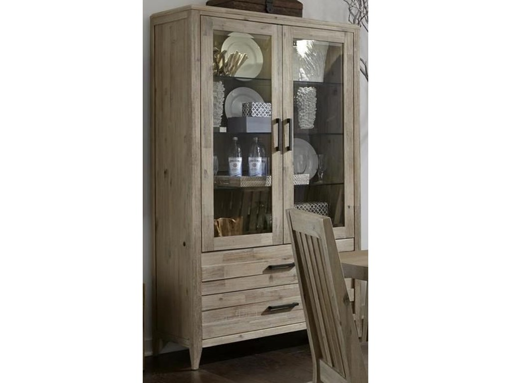 Morris Home Furnishings West WoodWest Wood Curio Unit