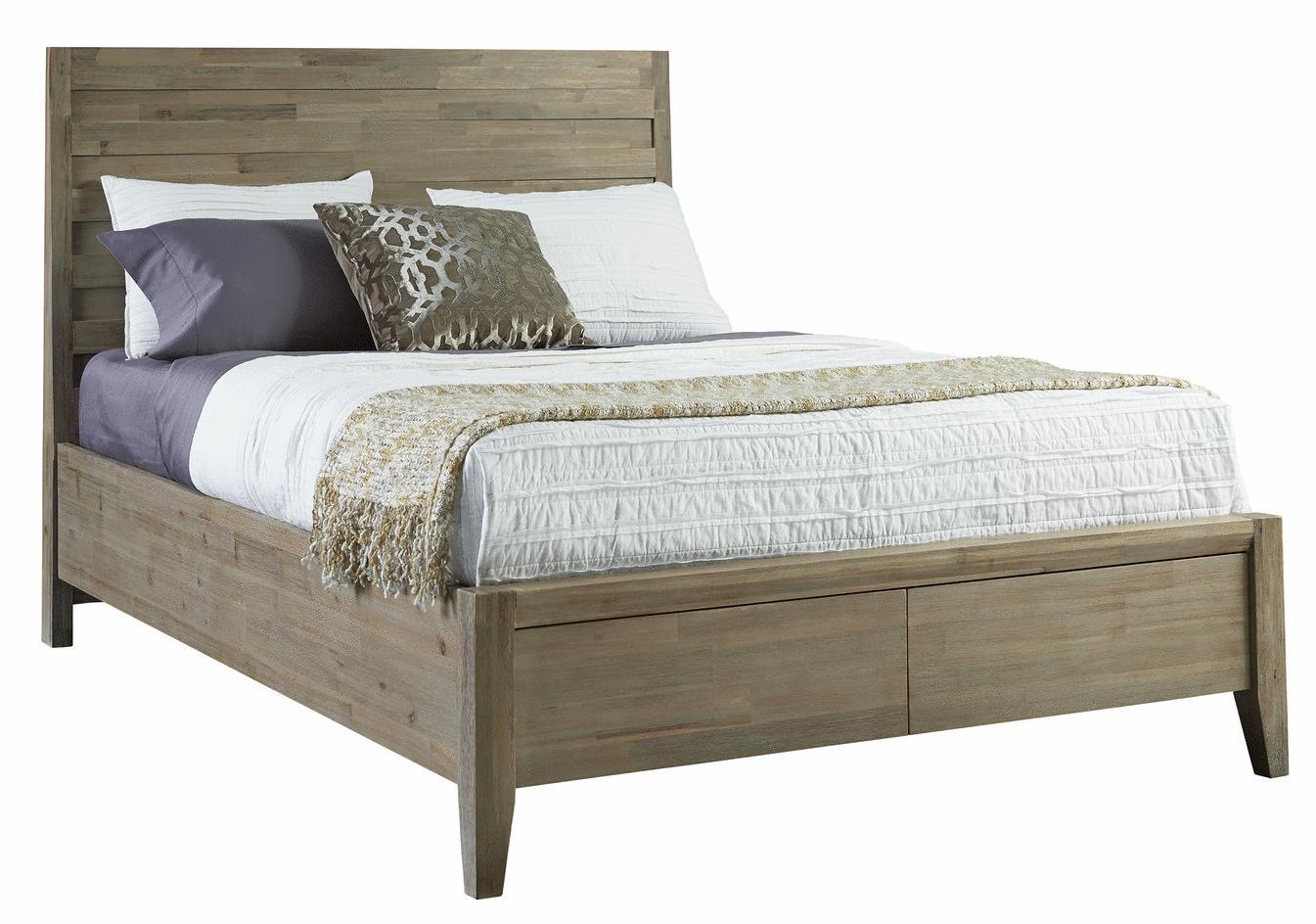 Casablanca Queen Horizontal Slat Storage Bed By Casana