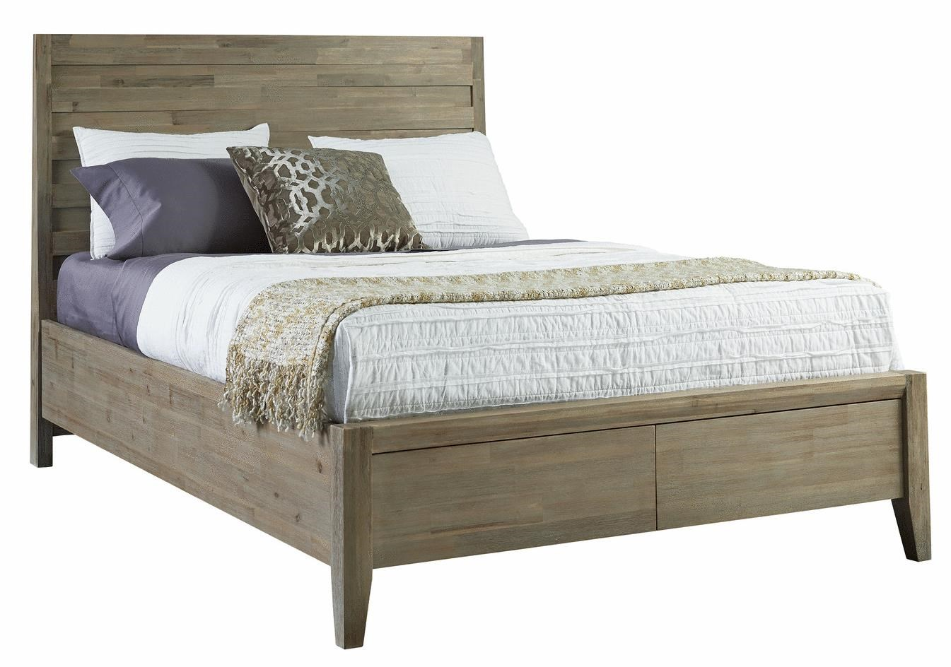 Casablanca Queen Horizontal Slat Storage Bed By Casana