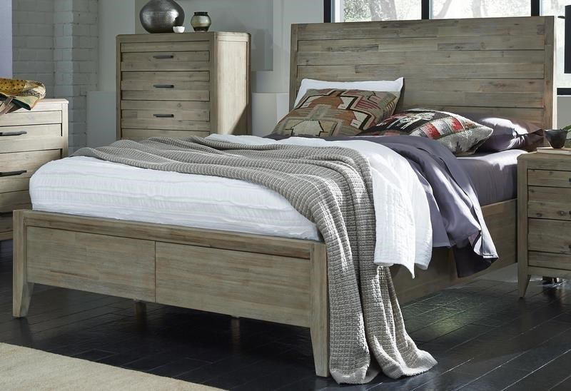 Morris Home Furnishings West WoodWestwood King Panel Bed