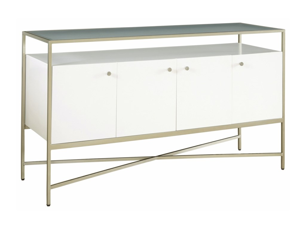 Delaney Sofa Table With 4 Doors By Casana At Rotmans