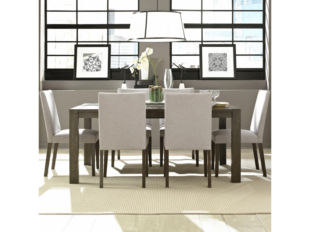 Casana Montreal Table And Chair Set With 6 Chairs
