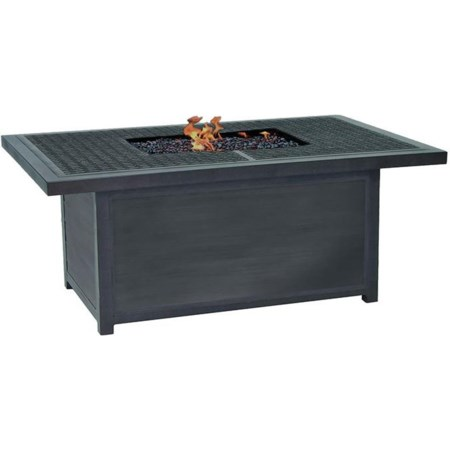 52 inch X 36 inch Altra Rectagular Fire Pit