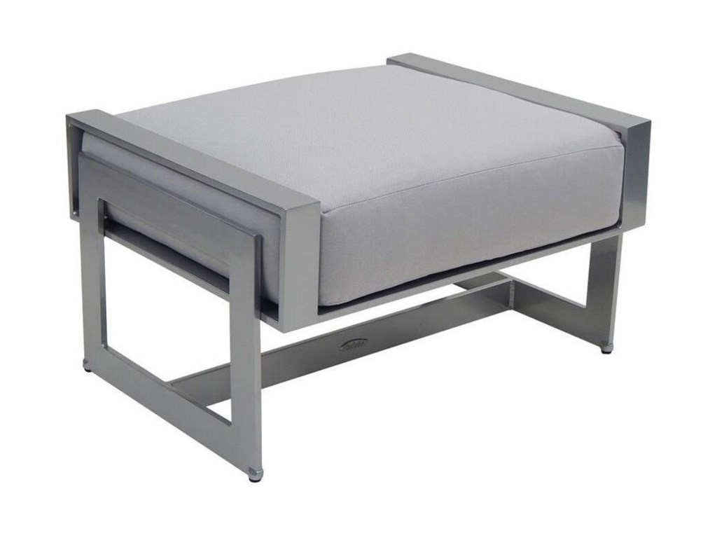 Castelle by Pride Family Brands EclipseCushioned Ottoman