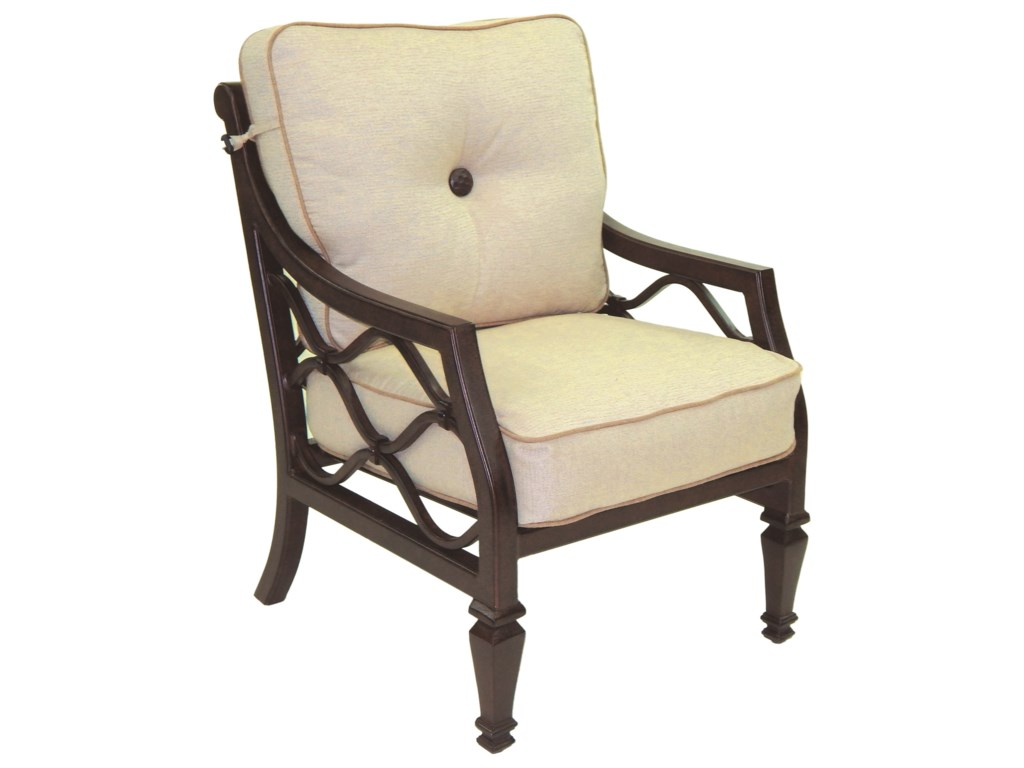 Castelle by Pride Family Brands Villa BiancaCushioned Dining Chair