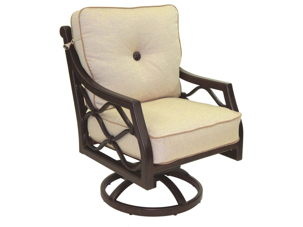 Castelle by Pride Family Brands Villa BiancaCushioned Swivel Rocker