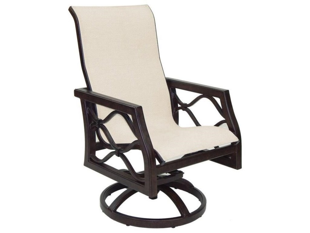 Castelle by Pride Family Brands Villa BiancaSling Swivel Rocker