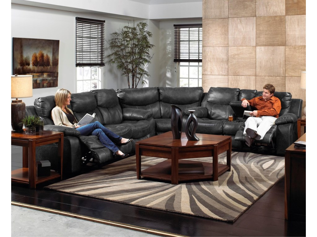 Catnapper  Catalina3 Pc Reclining Sectional Sofa