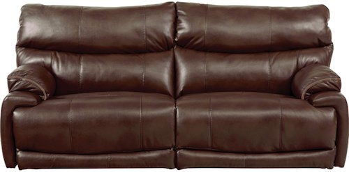 Catnapper Larkin Power Lay-Flat Reclining Sofa