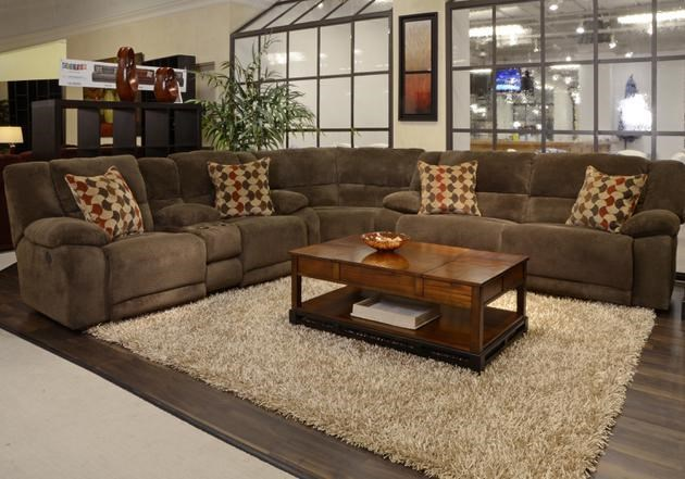 Catnapper HammondReclining Sectional Sofa