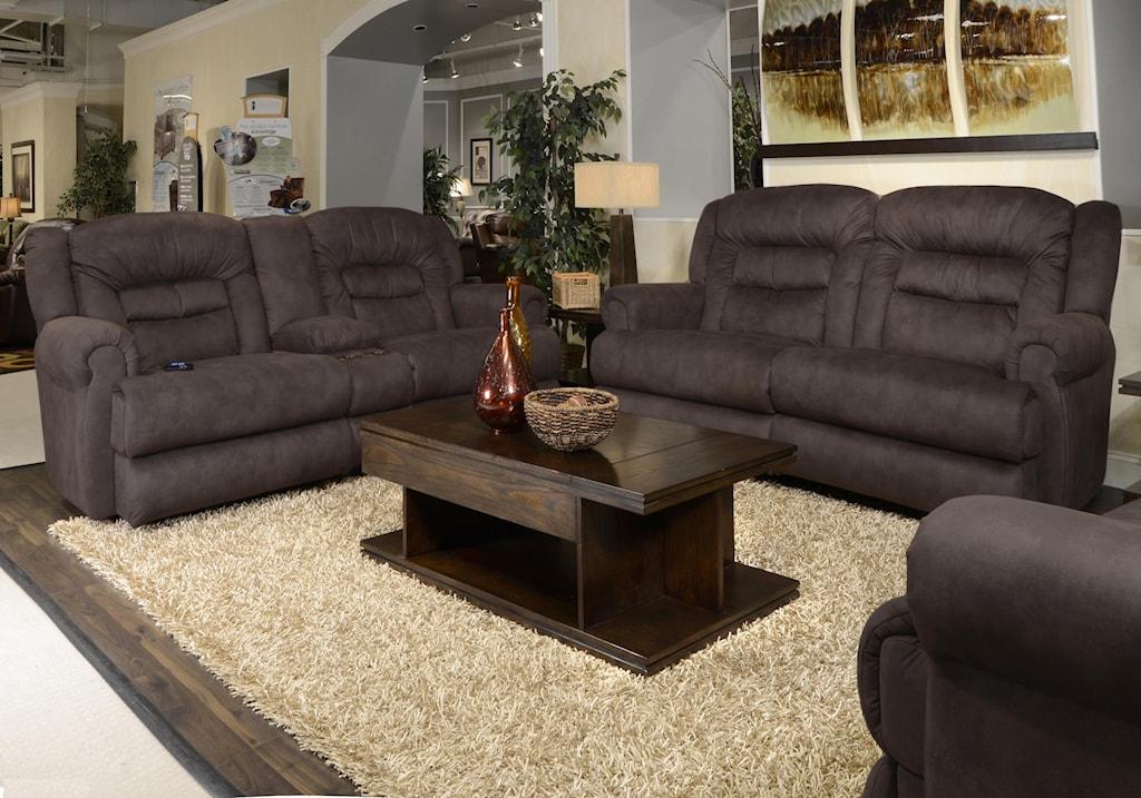 Catnapper Atlas Reclining Living Room Group Virginia Furniture
