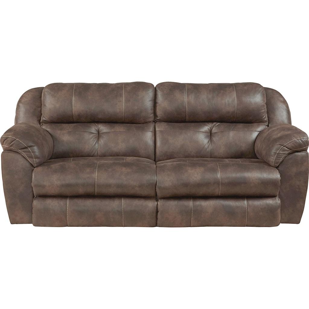 Catnapper Ferrington 761891 Power Headrest Lay Flat Reclining Sofa