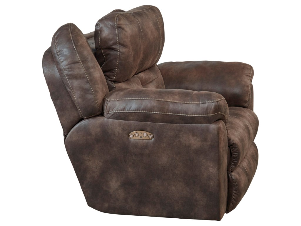 Catnapper KanyaPower Headrest Lay-Flat Recliner