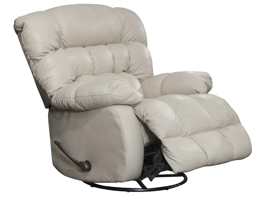 Catnapper 4213Leather Swivel Recliner