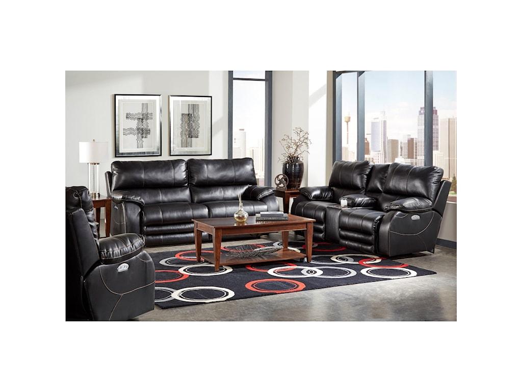 Catnapper SheridanPower Lay-Flat Sofa