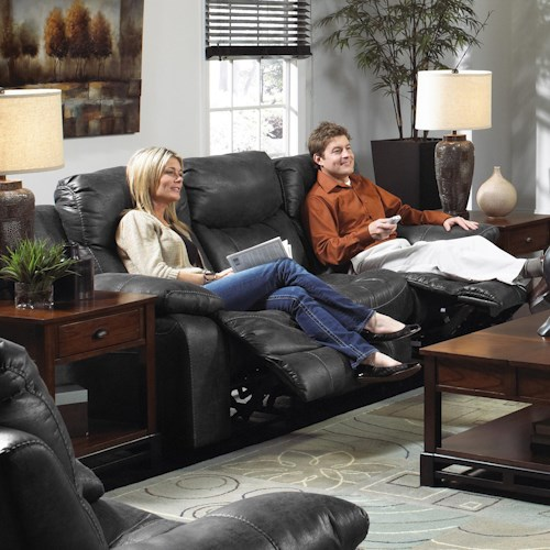 Catnapper Catalina 431 Comfortable and Stylish Reclining Couch for Living Rooms and Family Rooms