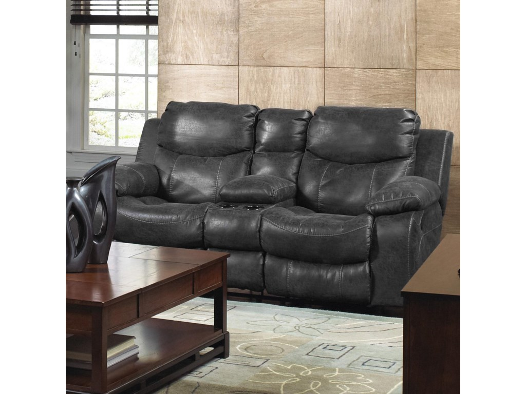Catnapper Catalina 431Power Reclining Console Loveseat