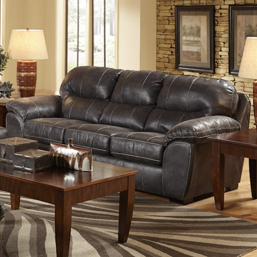Jackson Furniture GUNSMOKE Sofa for Living Rooms and Family Rooms