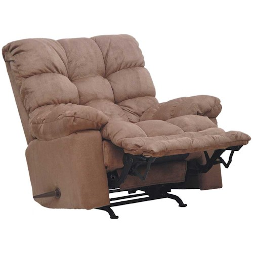 Catnapper FROST Rocker Recliner with Sensate Heat/ Massage and Magazine Pocket