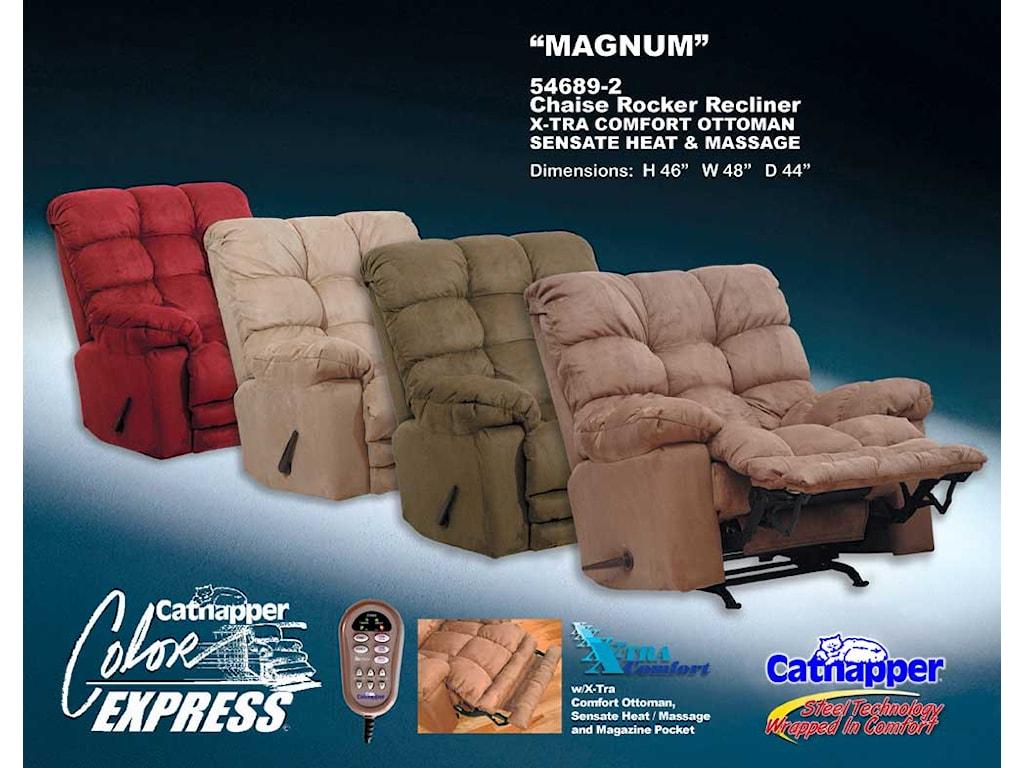 Catnapper Magnum 54689Rocking Massage Recliner