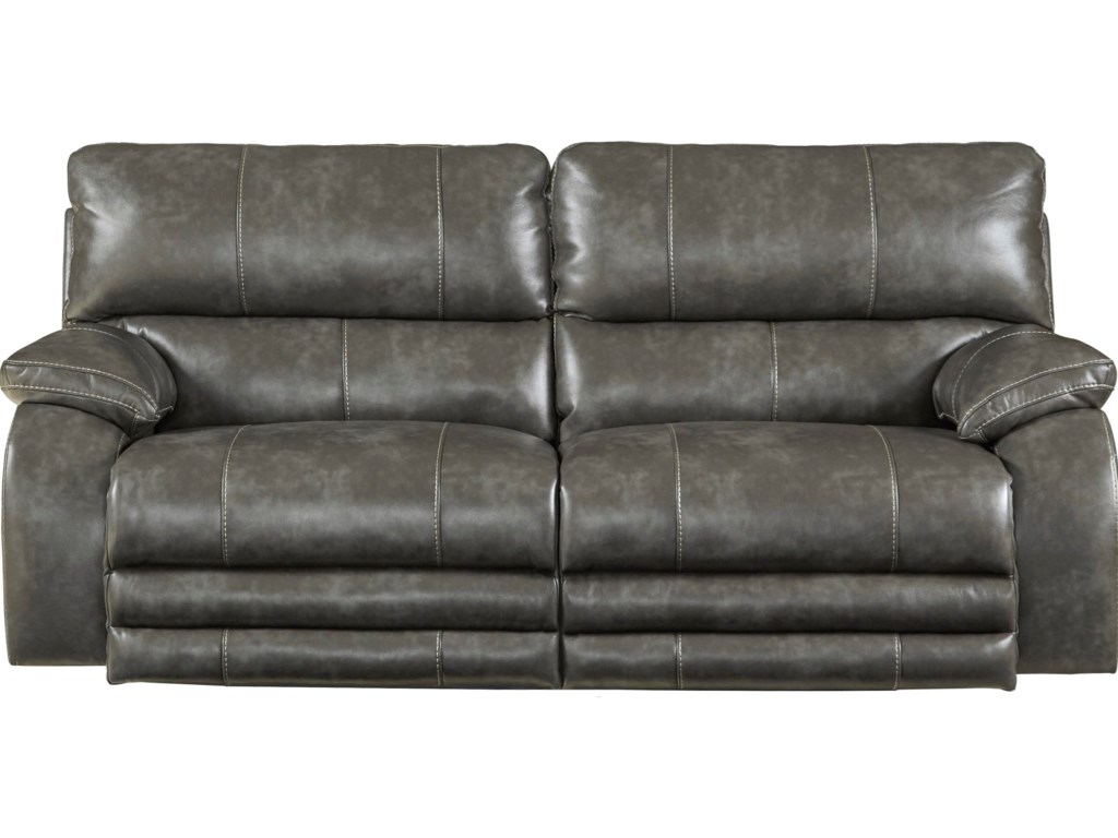 Catnapper Reclining Collection Reclining Sofa With Power Headrest