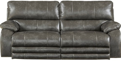 Catnapper Reclining Collection Reclining Sofa with Power Headrest And Power Lay Flat