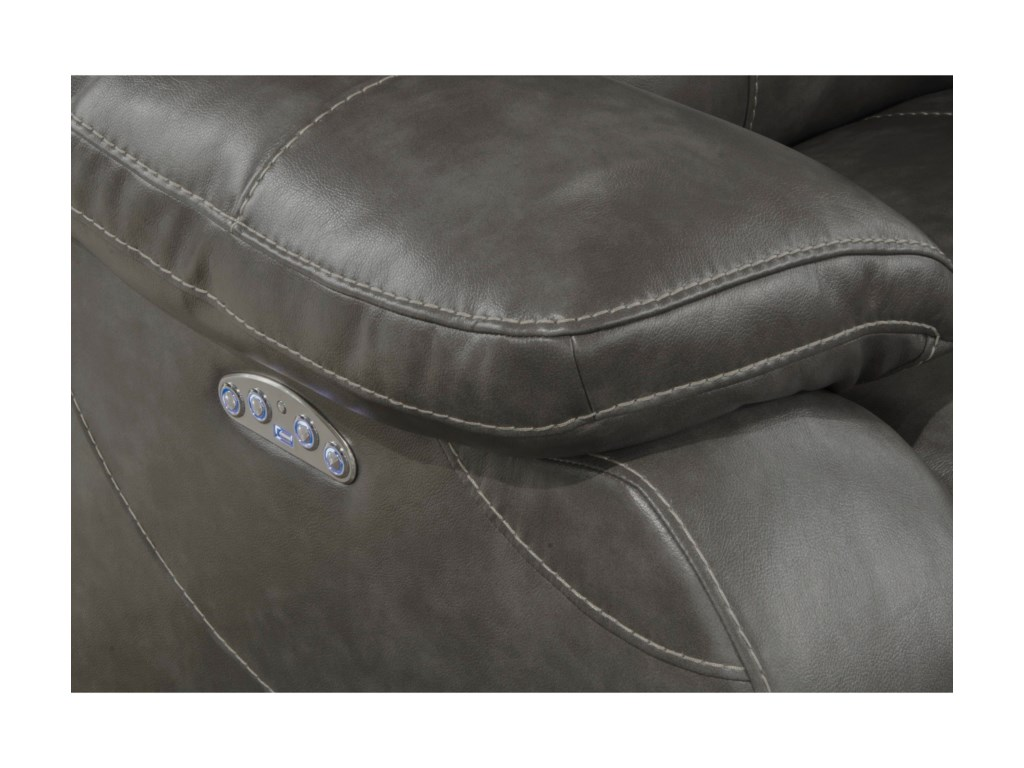 Catnapper Reclining CollectionPower Headrest Power Lay Flat Loveseat