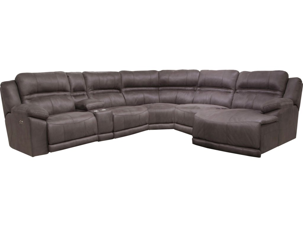 Catner Braxtonfive Seat Reclining Sectional Sofa