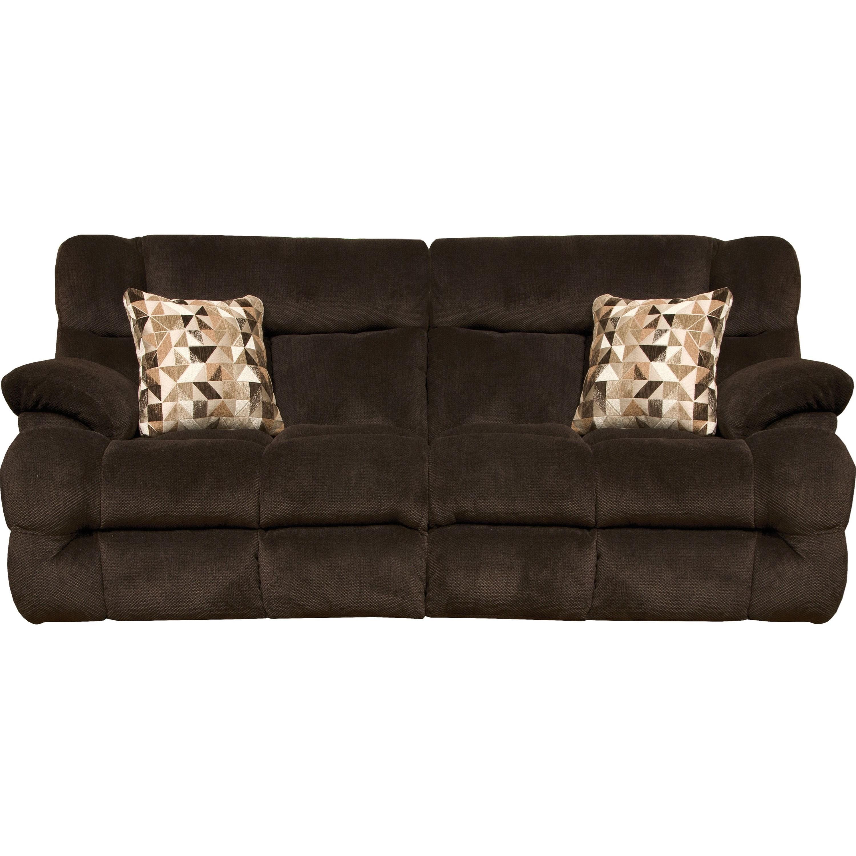 Catnapper BricePower Headrest W/Lumbar Power Lay Flat Sofa