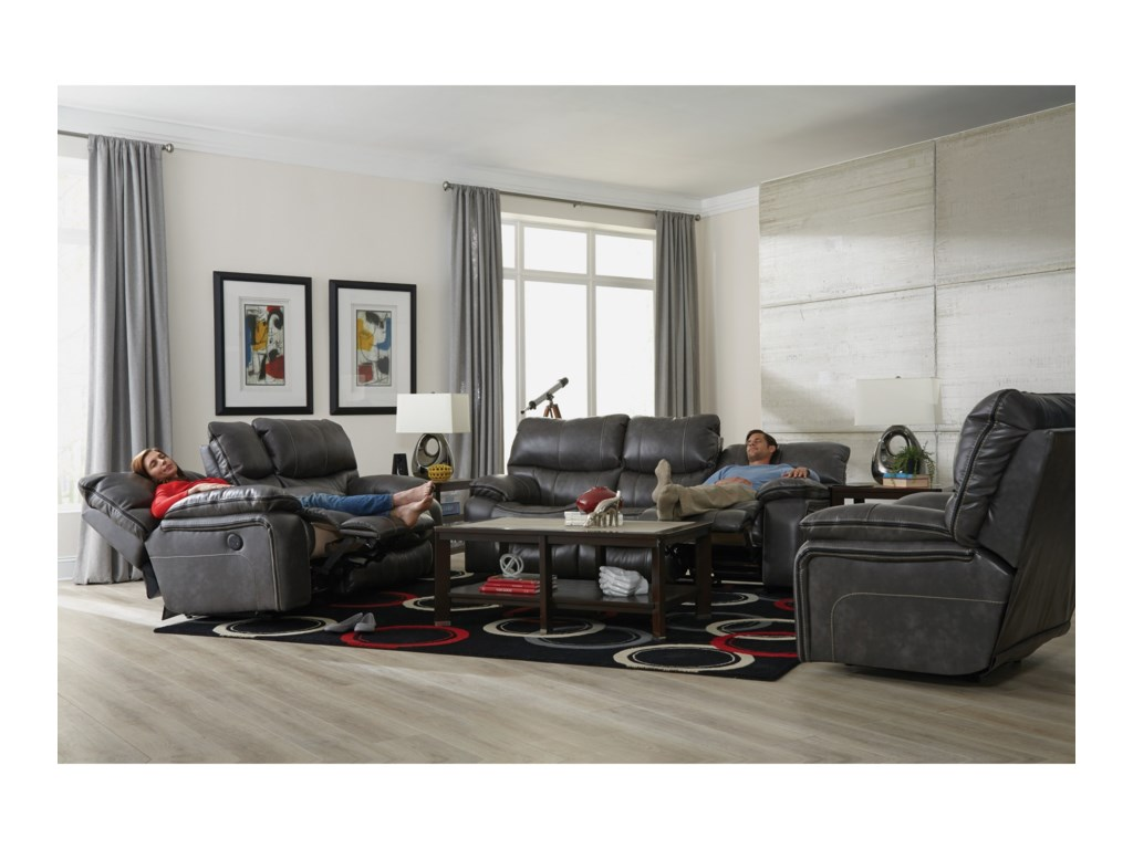 Catnapper CamdenPower Lay Flat Reclining Sofa