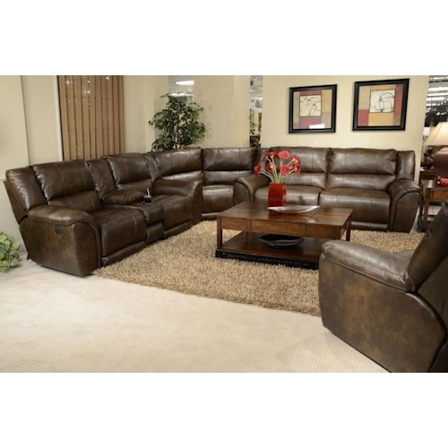 Catnapper carmine reclining sectional sofa lindy 39 s for Furniture 500 companies