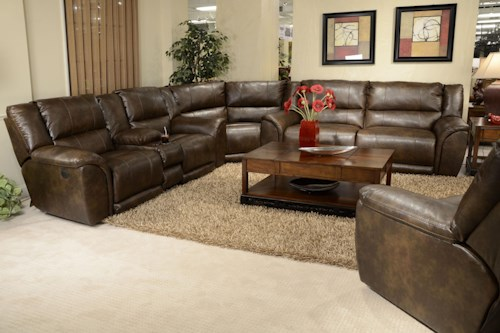 Catnapper Carmine Reclining Sectional Sofa
