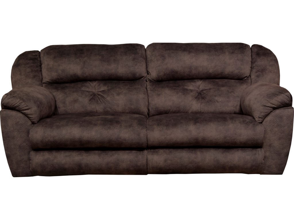 Catnapper Carrington 62501 Power Lay Flat Reclining Sofa Gill