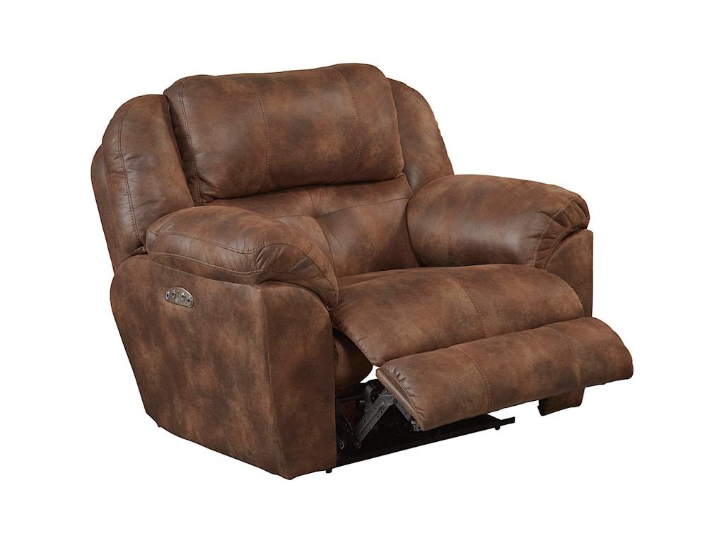Catnapper FerringtonPower Headrest Lay Flat Recliner