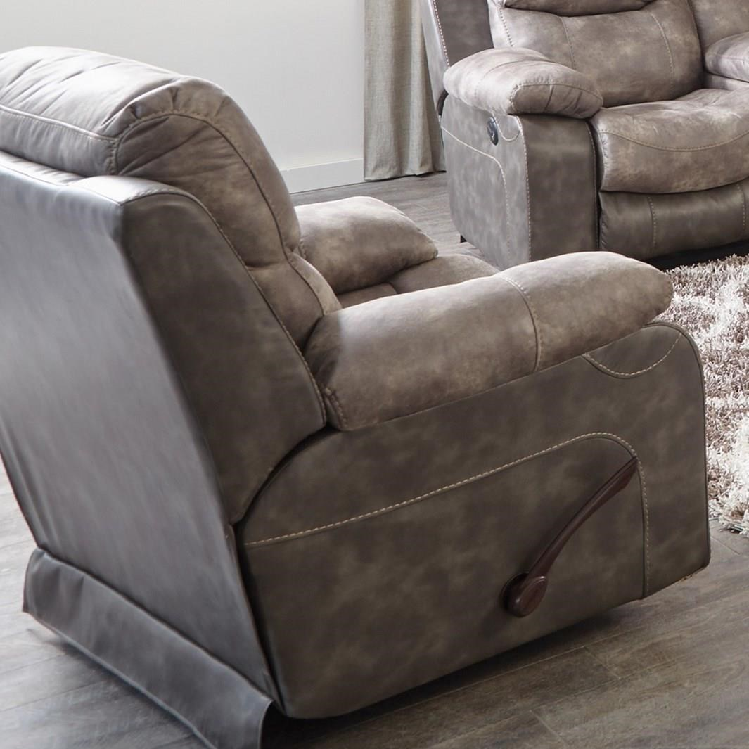 actual recline may differ from what is shown - Catnapper Recliners