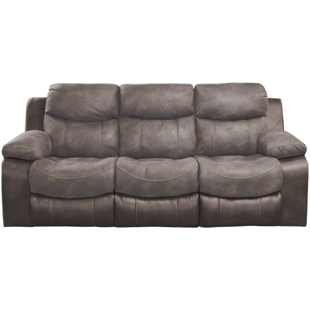 Catnapper Henderson 4355 Reclining Sofa With Drop Down Table Great