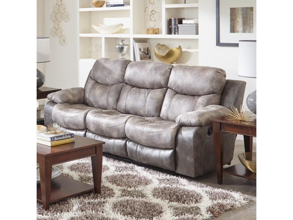Sofa With Drop Down Table Catner Summit Dual Reclining