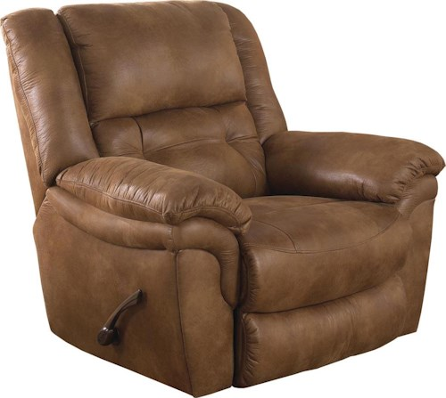 Catnapper Joyner Contemporary Lay Flat Recliner
