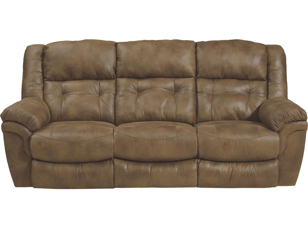 Catner Joyner Reclining Sofa With Drop Down Table