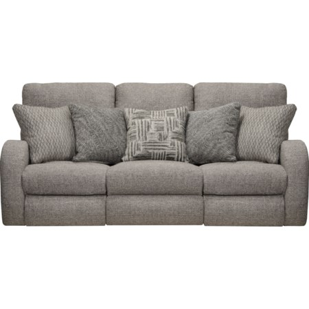 Power Headrest Layflat Reclining Sofa