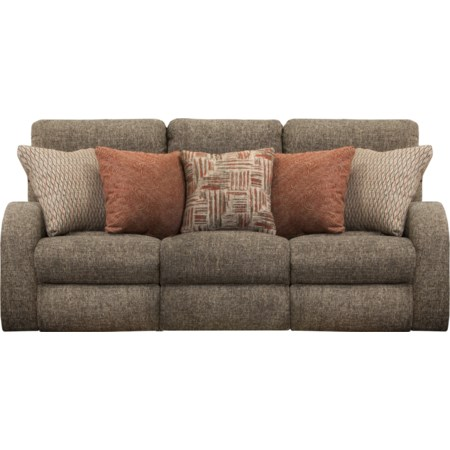 Power Headrest Layflat Reclining Sofa