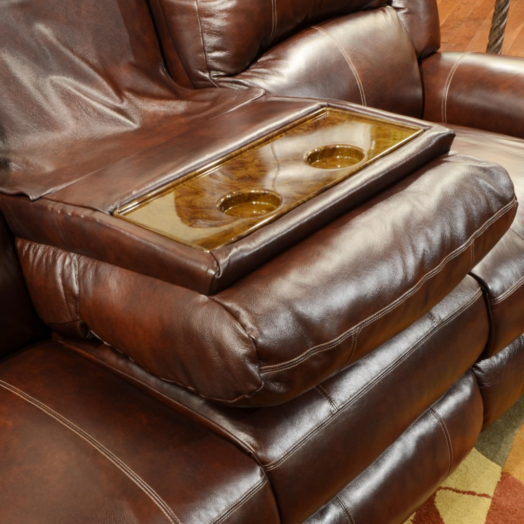 Catnapper Livingston Power Reclining Sofa With Drop Down Table And  ~ Dual Reclining Sofa With Drop Down Table