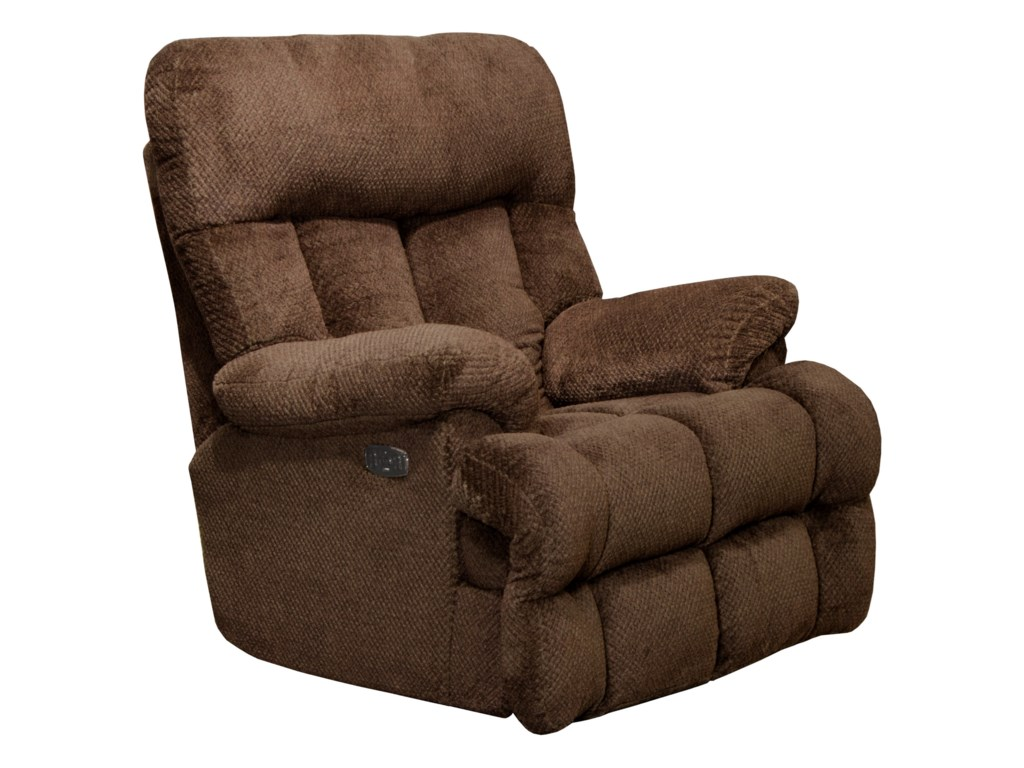 Catnapper ManleyPower Headrest Lay Flat Recliner